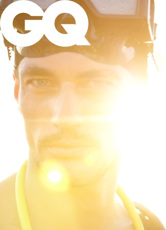 Men Swimwear German GQ Cover