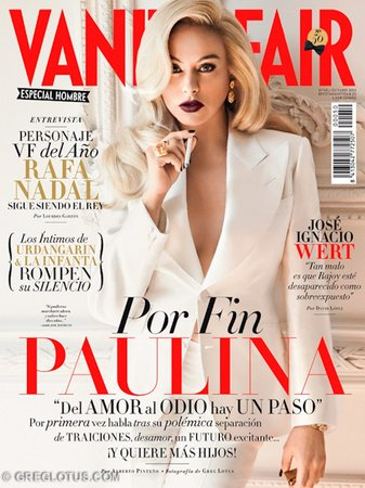Paulina Rubio VF Cover